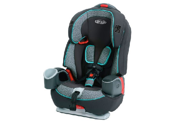 Front Facing Car Seat 5 Point Harness Booster Baby Rental